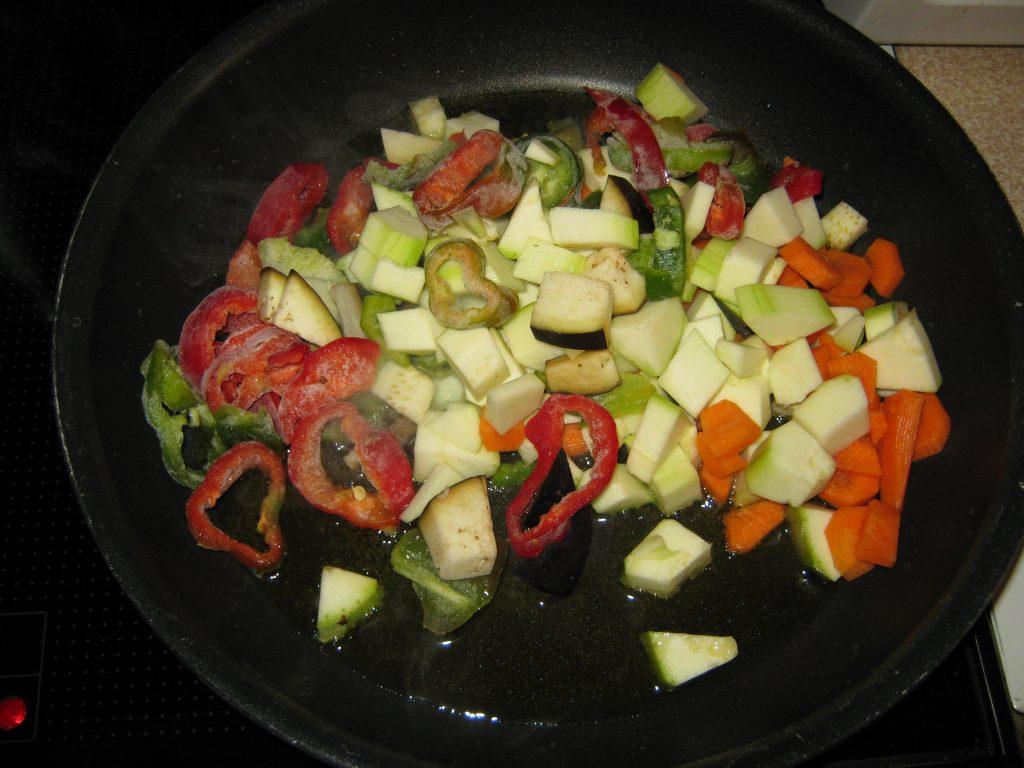 Ζυμαρικά με λαχανικά και κρέμα τυριών - 3