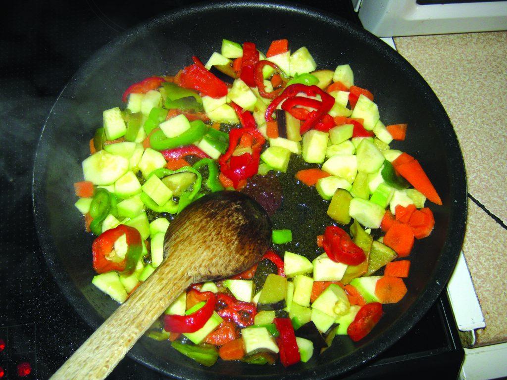Ζυμαρικά με λαχανικά και κρέμα τυριών - 5