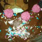 Φθινοπωρινό σοκολατοφραουλένιο κέικ!