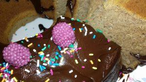 Κέικ φθινοπωρινό σοκολατοφραουλένιο - 38