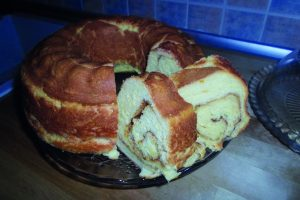 Κέικ τσουρεκάτο, κανέλα - ηχωμαγειρέματα - 10