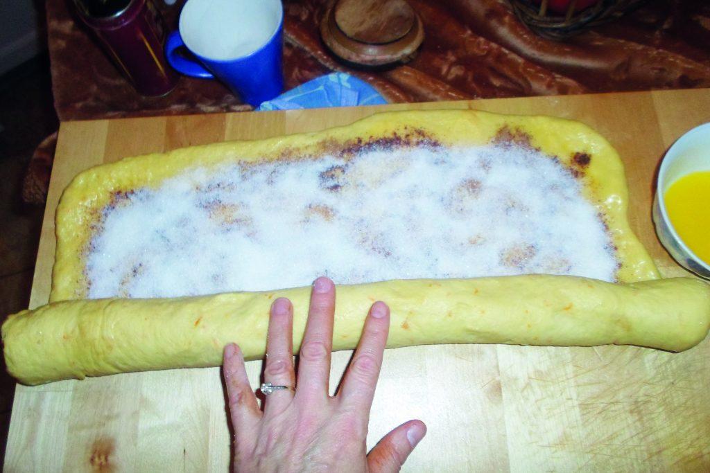 Κέικ τσουρεκάτο, κανέλα - ηχωμαγειρέματα - 6