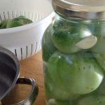 Πράσινες ντοματούλες τουρσί! Υπέροχος, χειμωνιάτικος, παραδοσιακός μεζές