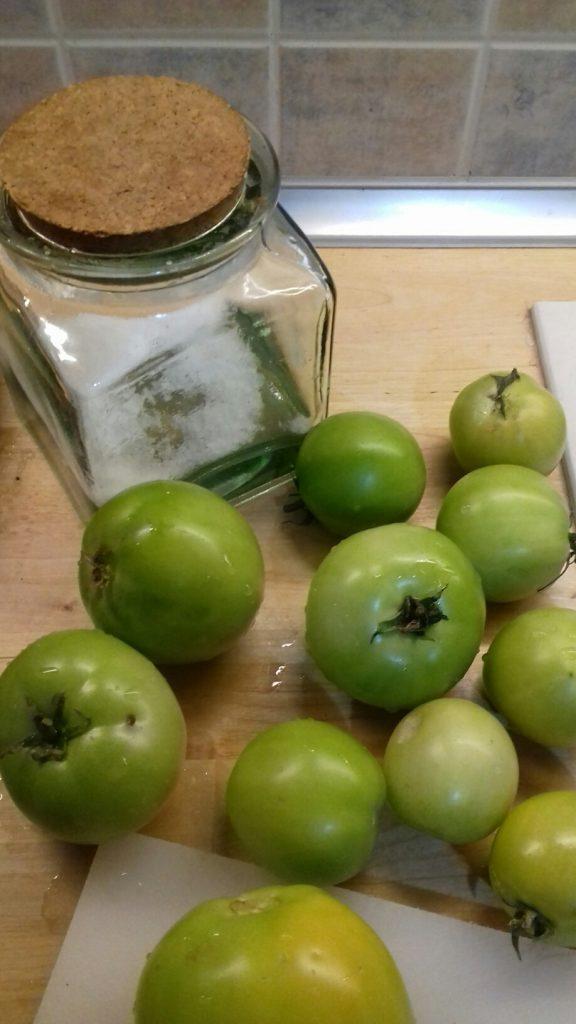 Πράσινες ντοματούλες τουρσί - ηχωμαγειρέματα - 17