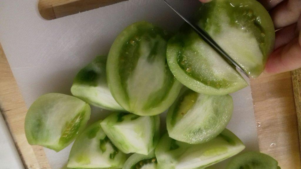 Πράσινες ντοματούλες τουρσί - ηχωμαγειρέματα - 18
