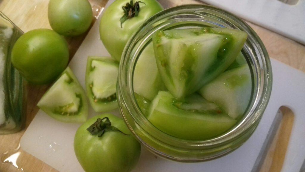 Πράσινες ντοματούλες τουρσί - ηχωμαγειρέματα - 25