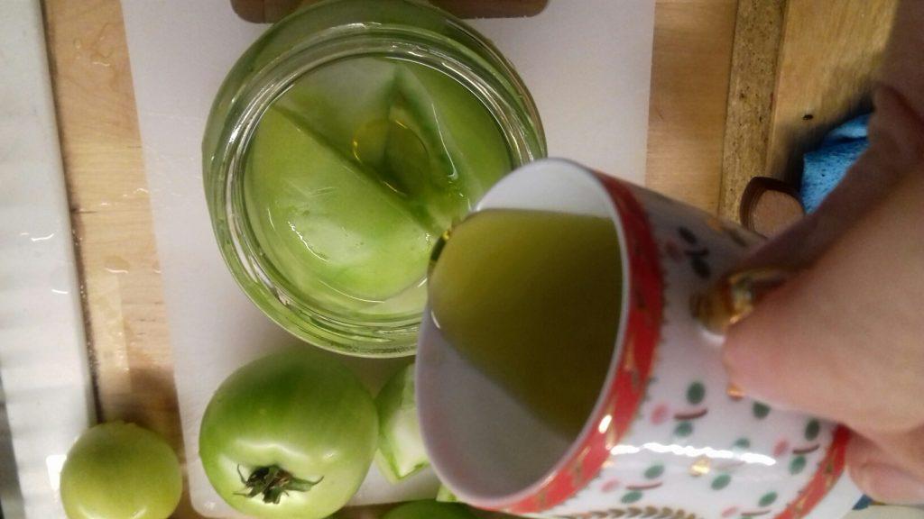 Πράσινες ντοματούλες τουρσί - ηχωμαγειρέματα - 27
