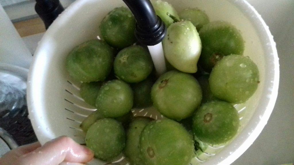 Πράσινες ντοματούλες τουρσί - ηχωμαγειρέματα - 3