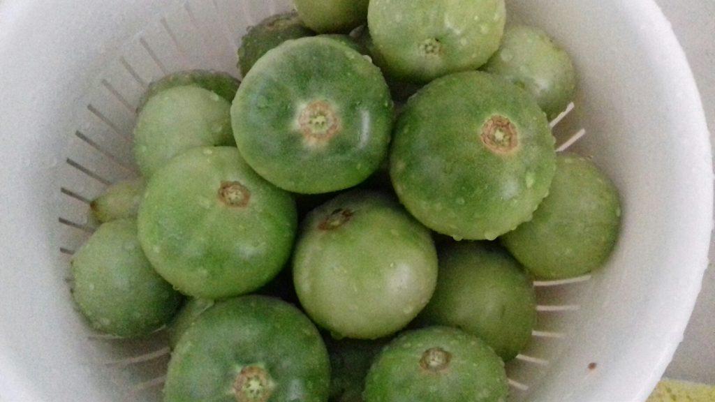 Πράσινες ντοματούλες τουρσί - ηχωμαγειρέματα - 4