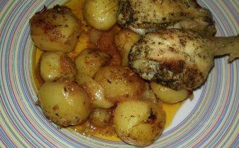 Κοτόπουλο με πατάτες μπέιμπι στο φούρνο - 18 - ηχωμαγειρέματα