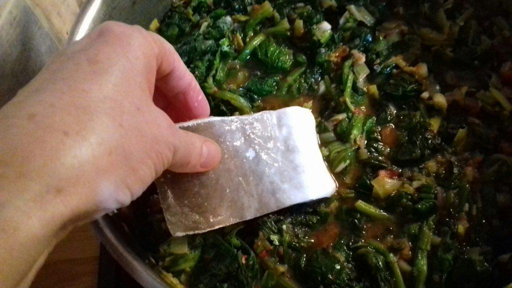Μπακαλιάρος με σπανάκι στο φούρνο - 34