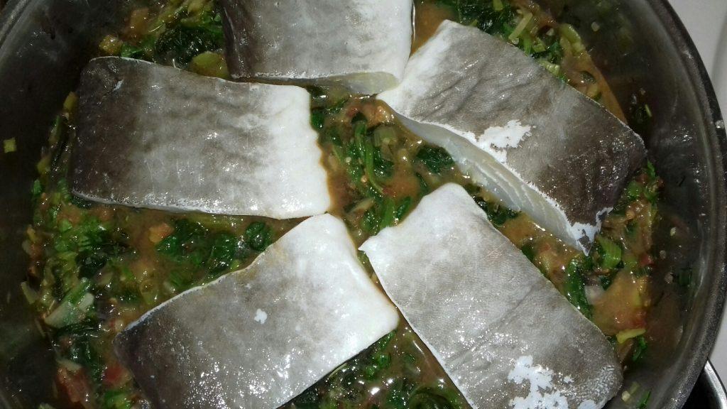 Μπακαλιάρος με σπανάκι στο φούρνο - 36