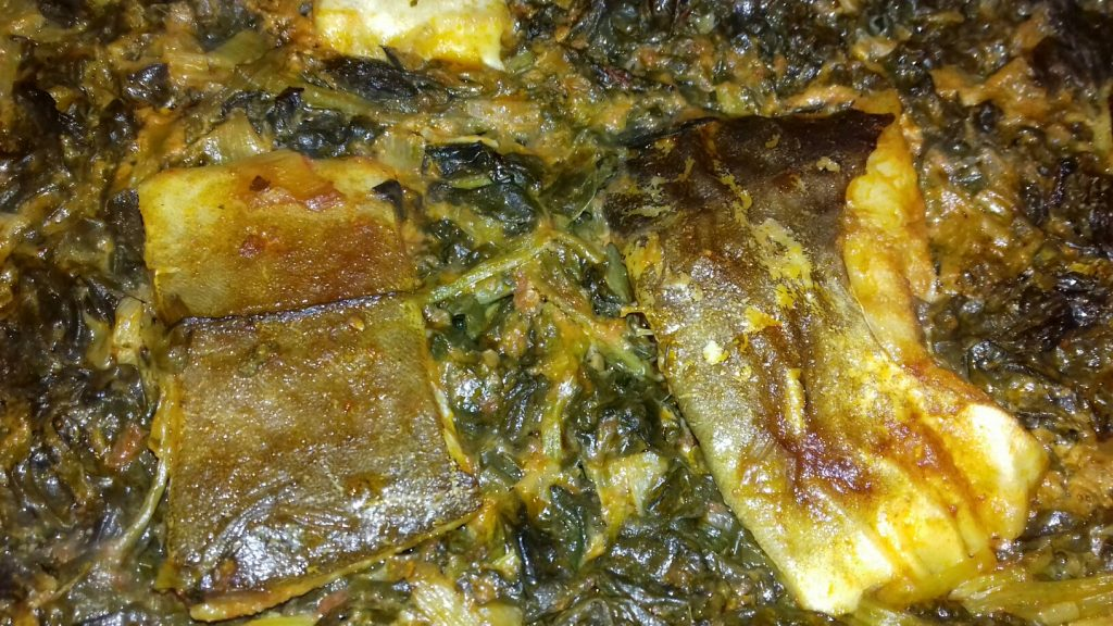 Μπακαλιάρος με σπανάκι στο φούρνο - 43