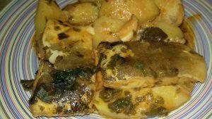 Μπακαλιάρος αγιορείτικος με πατάτες και σάλτσα ντομάτας - 45