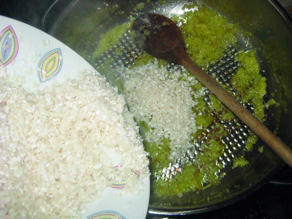Μπακαλιάρος με ρύζι στο φούρνο - 4