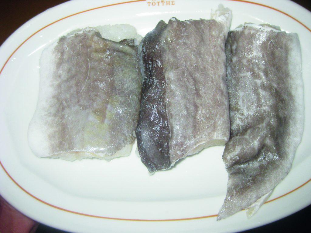 Μπακαλιάρος με ρύζι στο φούρνο - 6