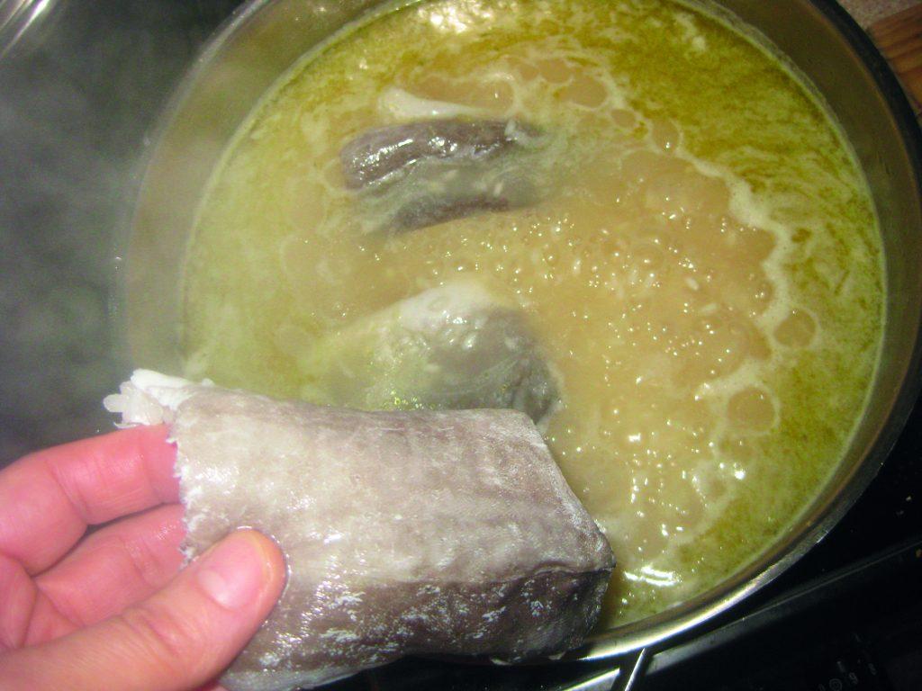 Μπακαλιάρος με ρύζι στο φούρνο - 7