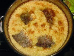 Μπακαλιάρος με ρύζι στο φούρνο - 8 - ηχωμαγειρέματα