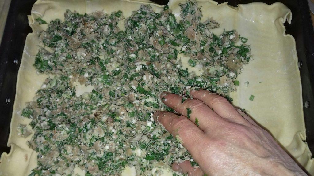 Κρεατόπιτα με πασχαλινό αρνάκι - 19