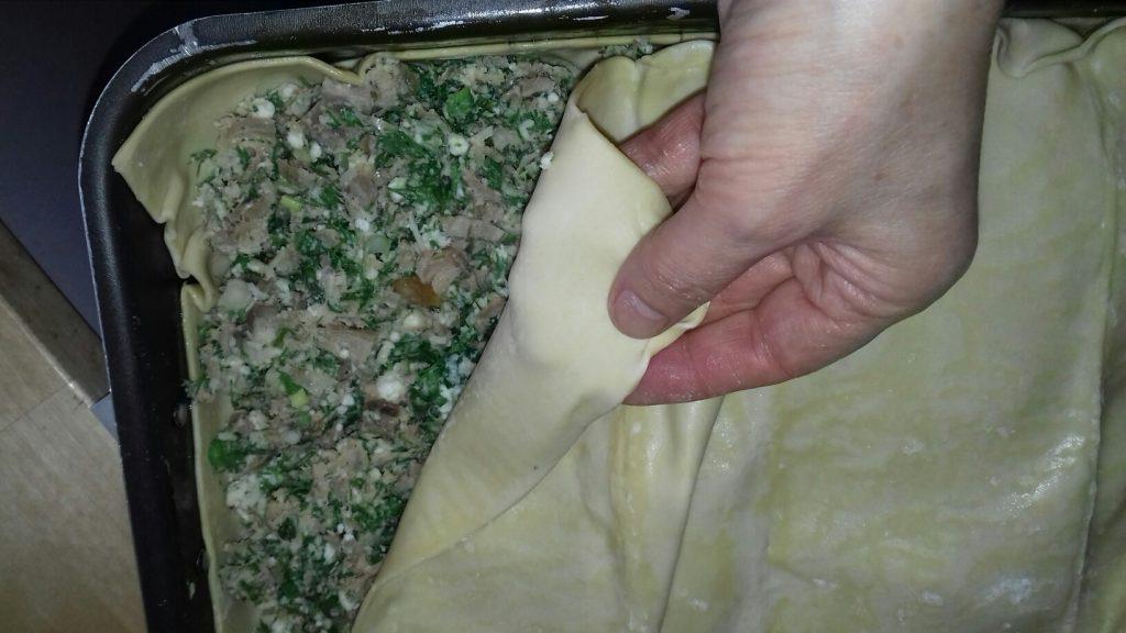 Κρεατόπιτα με πασχαλινό αρνάκι - 20