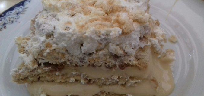 Μπισκοτένιο γλυκό... καραμελάτο - 43 - συνταγή ηχωμαγειρέματα