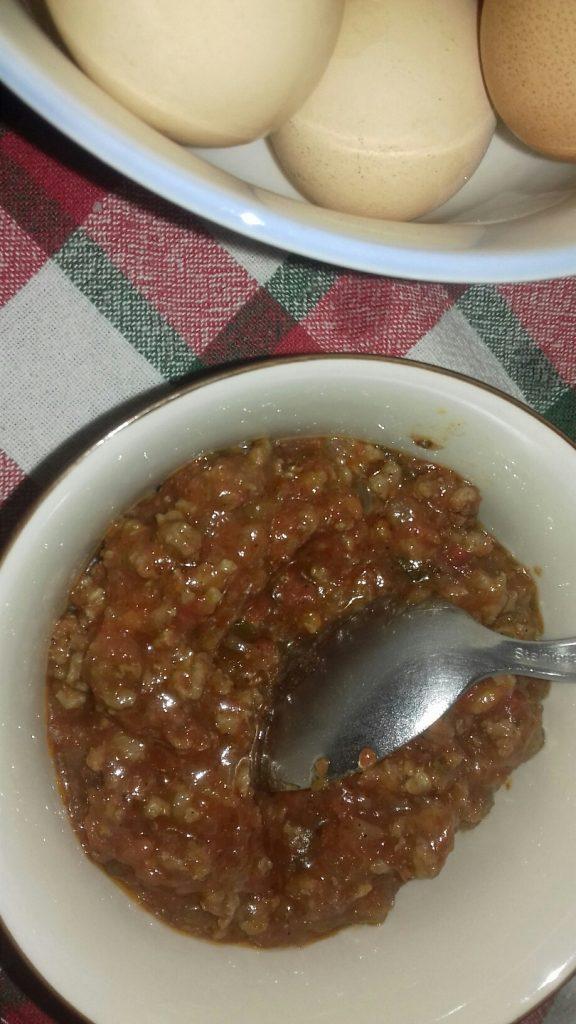 Ομελέτα με μαγειρεμένο κιμά που περίσσεψε - 13
