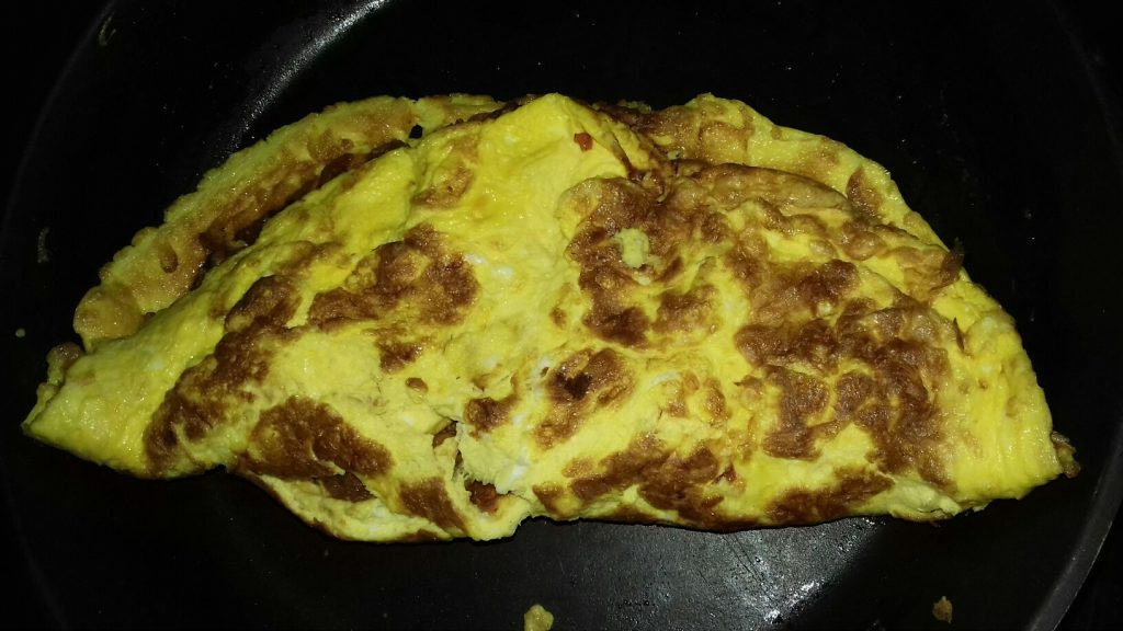 Ομελέτα με μαγειρεμένο κιμά που περίσσεψε - 21