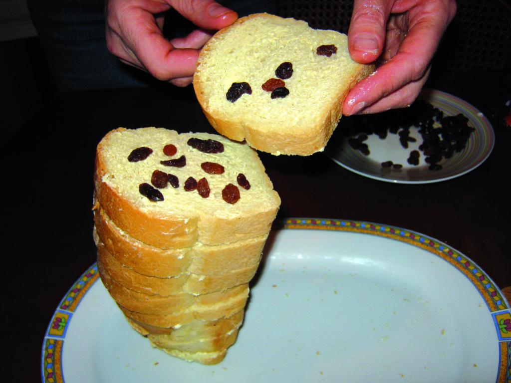 Πουτίγκα με μπαγιάτικο ψωμί - 3
