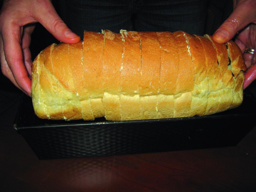 Πουτίγκα με μπαγιάτικο ψωμί - 4