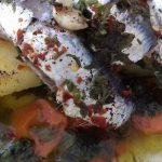 Σαρδέλες με λαχανικά σε πουγκάκια απλά υπέροχες