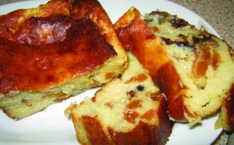Κέικ σιμιγδαλένιο εύκολο - 9 - ηχωμαγειρέματα