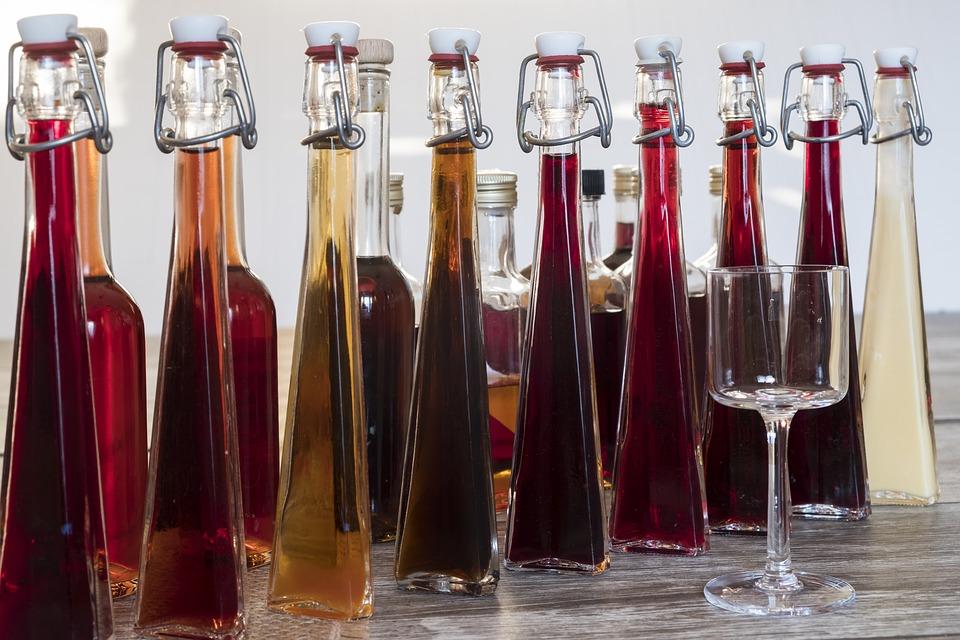 Λικέρ σε μπουκάλια