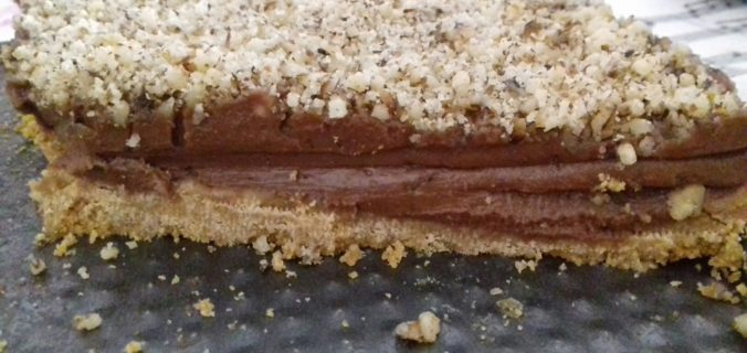 Τάρτα με πραλίνα φουντουκιού - έτοιμη σε 7 λεπτά - 2