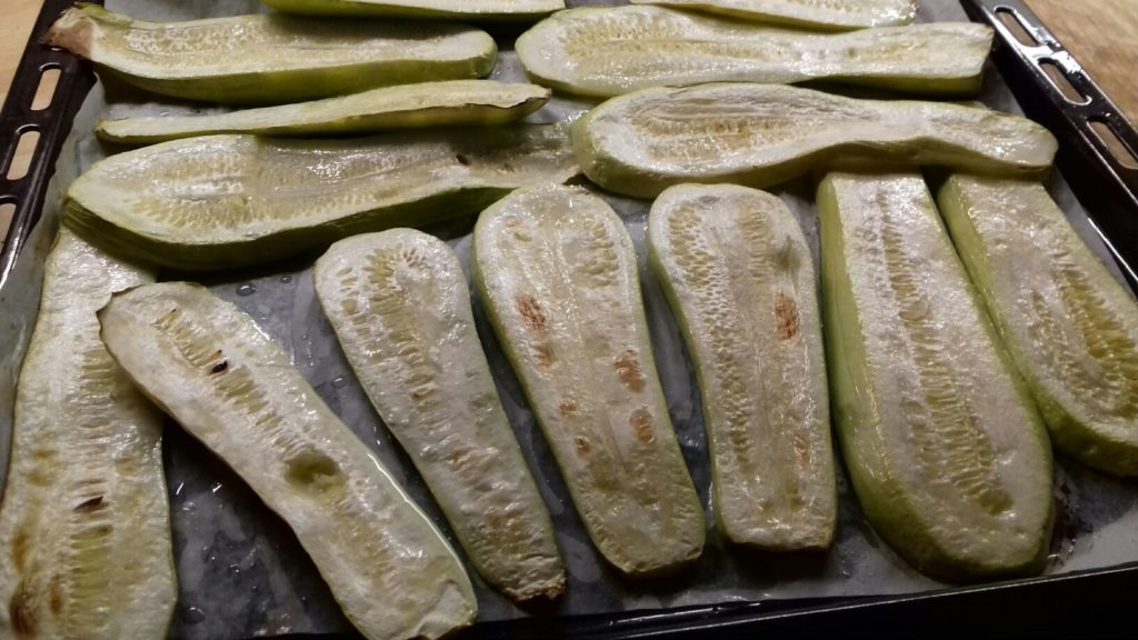 Κολοκυθάκια στο φούρνο με κιμά και μπεσαμέλ - 18