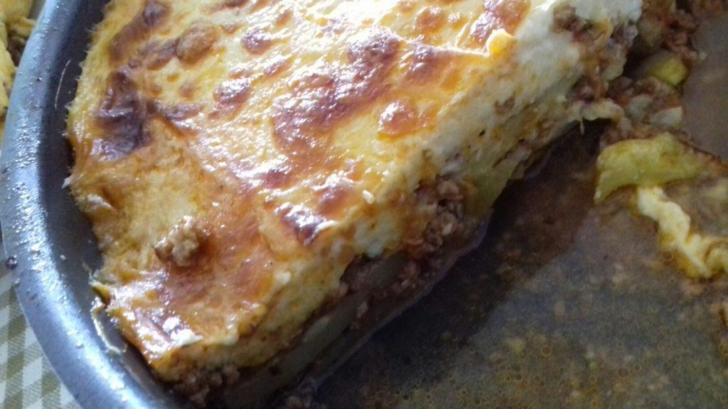 Κολοκυθάκια στο φούρνο με κιμά και μπεσαμέλ - 43
