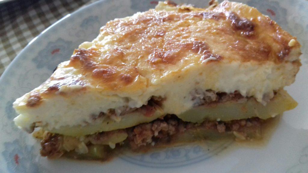 Κολοκυθάκια στο φούρνο με κιμά και μπεσαμέλ - 44