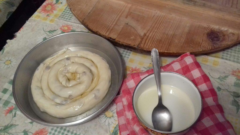 Σταφιδόπιτα - Γλυκιά τραβηχτή στριφτόπιτα με σταφίδες - 44