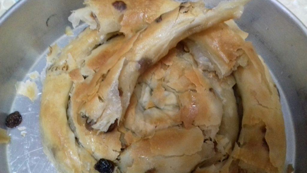 Σταφιδόπιτα - Γλυκιά τραβηχτή στριφτόπιτα με σταφίδες - 51