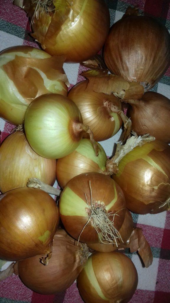 Κεφτέδες με κρεμμύδια και πατάτες στο φούρνο - 1