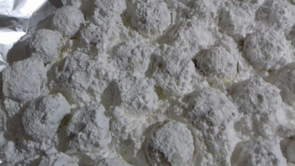 Κουραμπιέδες νηστίσιμοι - 35