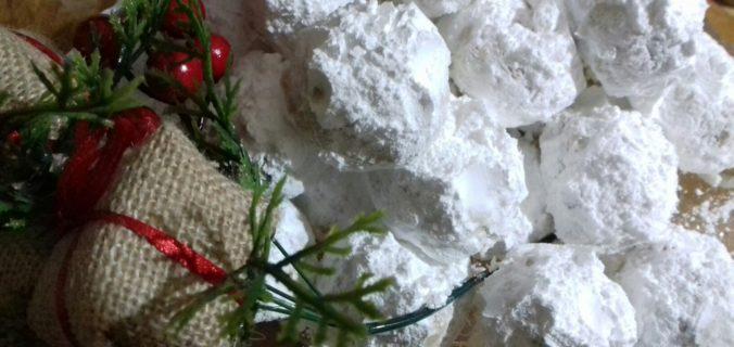 Κουραμπιέδες νηστίσιμοι - 36 - ηχωμαγειρέματα