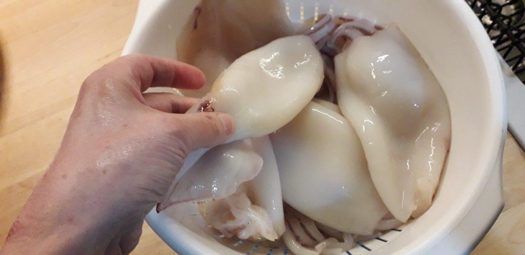 καλαμαράκια τηγανητά τραγανά