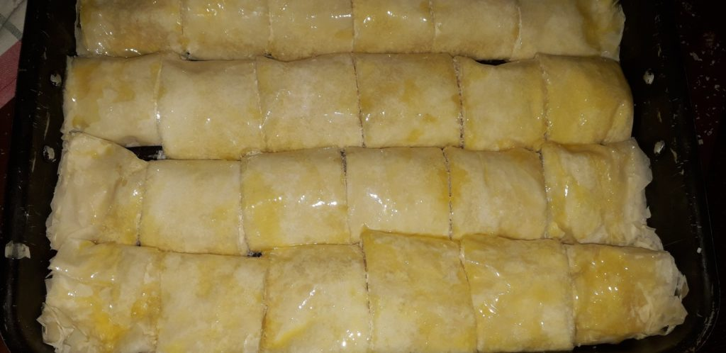 σιροπιαστό γλυκό με ινδοκάρυδο - 22