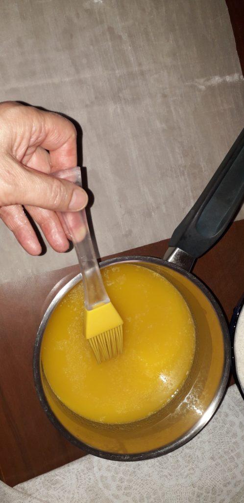 σιροπιαστό γλυκό με ινδοκάρυδο - 7