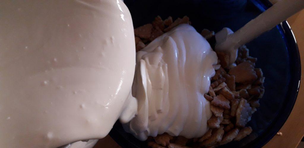 Υγιεινό γλυκό του πεντάλεπτου με μπισκότα - 14