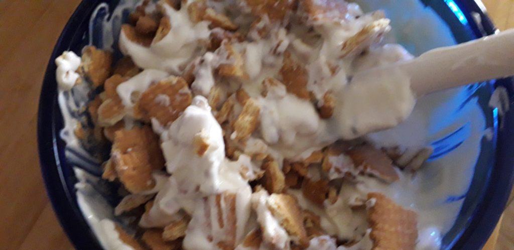 Υγιεινό γλυκό του πεντάλεπτου με μπισκότα - 17