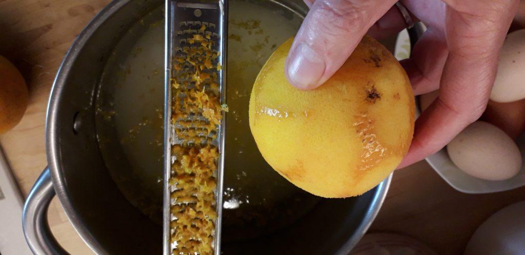 Σοκολατόπιτα με γεύση πορτοκαλιού - 13