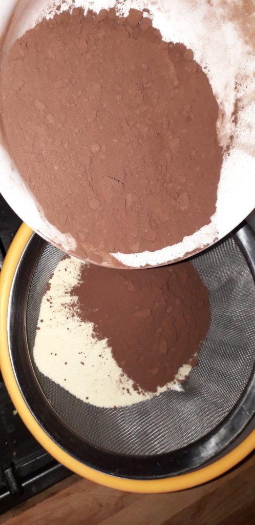 Σοκολατόπιτα με γεύση πορτοκαλιού - 22