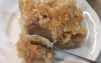 νηστίσιμη σιροπιαστη μηλόπιτα - 66 - ηχωμαγειρέματα