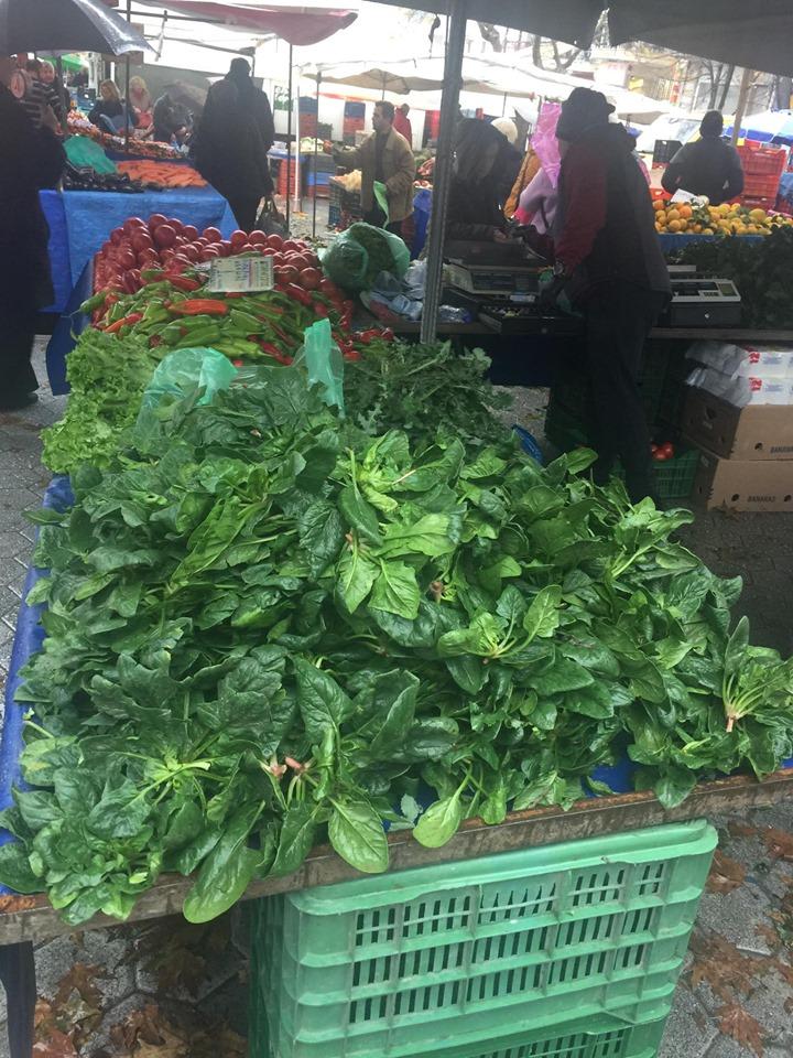σπανάκι - λαϊκή αγορά